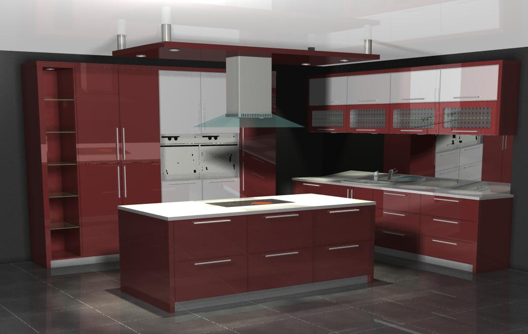 Magicflame kitchens kitchen cupboards bedroom cupboards for Kitchen designs boksburg